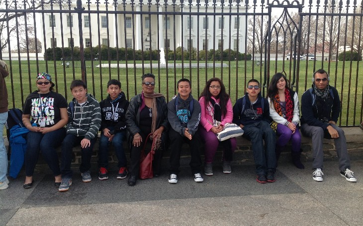 Cesar Chavez Middle School Washington DC/NYC Spring Break Study Trip